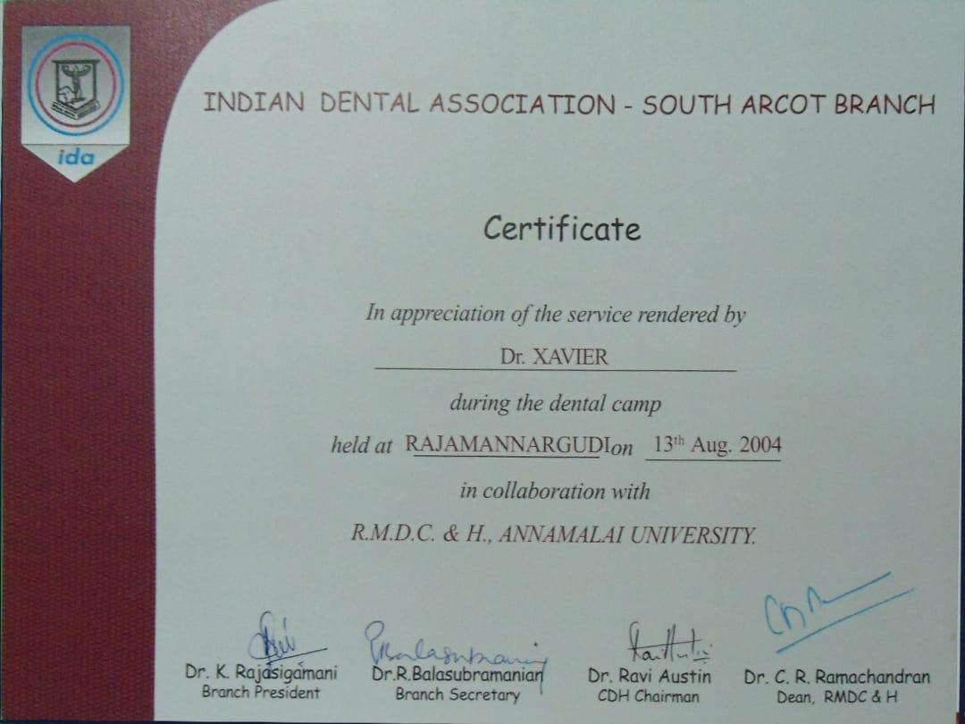 Xavier Dental Clinic - Madurai